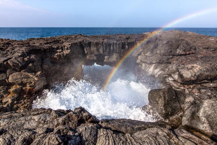 rainbow-waves